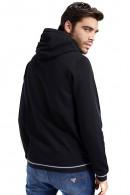 GUESS Sweatshirt mit Reißverschluss und Kapuze