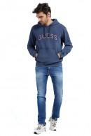 GUESS Geschlossenes Sweatshirt mit Kapuze und Frontlogo