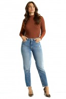 GUESS Entspannte Jeans mit hohem Bund
