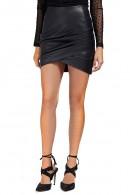 GUESS Leatherette mini skirt