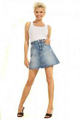 GUESS Short denim skirt