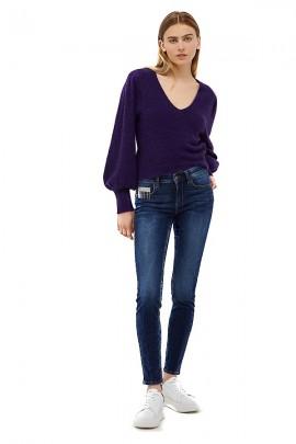 LIU JO Skinny jeans and pocket stras