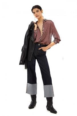 LIU JO Micro-patterned shirt