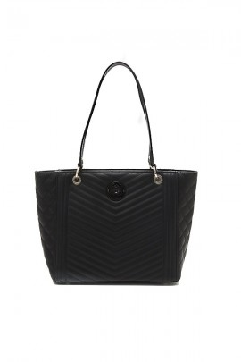GUESS Large bag in quilted leather