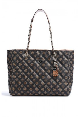 GUESS Quilted and logoed bag