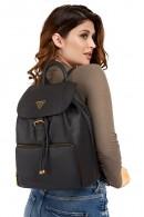 GUESS Rucksack aus gehämmertem Leder