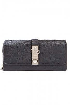 GUESS Wallet in hammered eco-leather