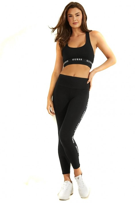 GUESS Super skinny legging and micrologist band
