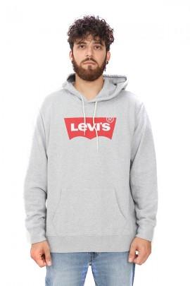Sudadera LEVIS Closed con capucha y logo clásico