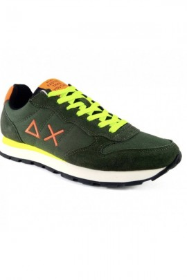 SUN 68 Shoe with fluo contrasts - MILITARE