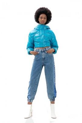 FRACOMINA Jeans zanahoria con puño
