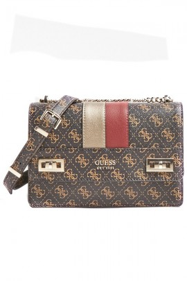 GUESS Bag with python and micrologist detail