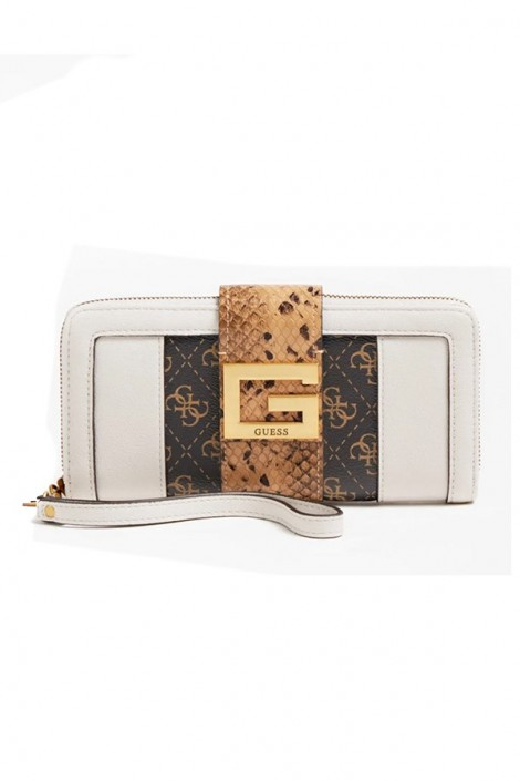 GUESS Wallet with micrologated detail