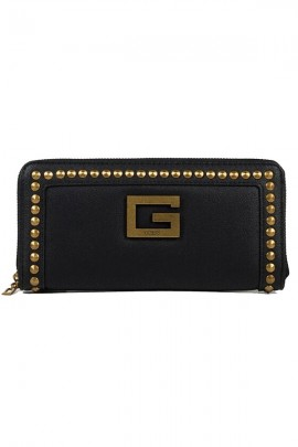 GUESS Wallet in eco-leather and studs