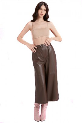 GUESS Cropped in faux leather and strap