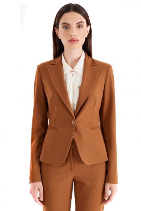 RENAISSANCE 1 button slim jacket