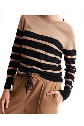 KAOS Striped sweater