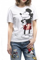 FRACOMINA Mickey mouse print t-shirt