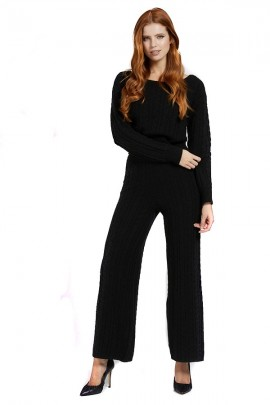 GUESS Palazzo trousers in cable knit