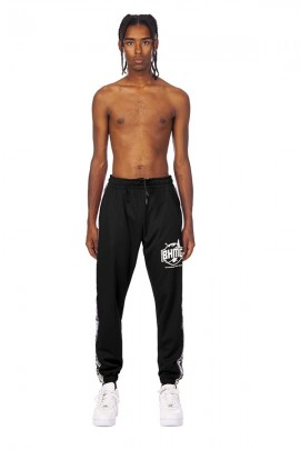 BHMG Triacetate trousers with logo band