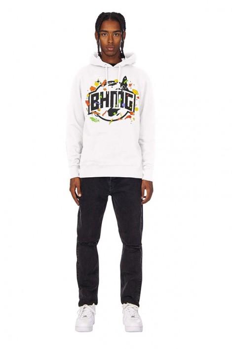 BHMG Spots and logo print sweatshirt